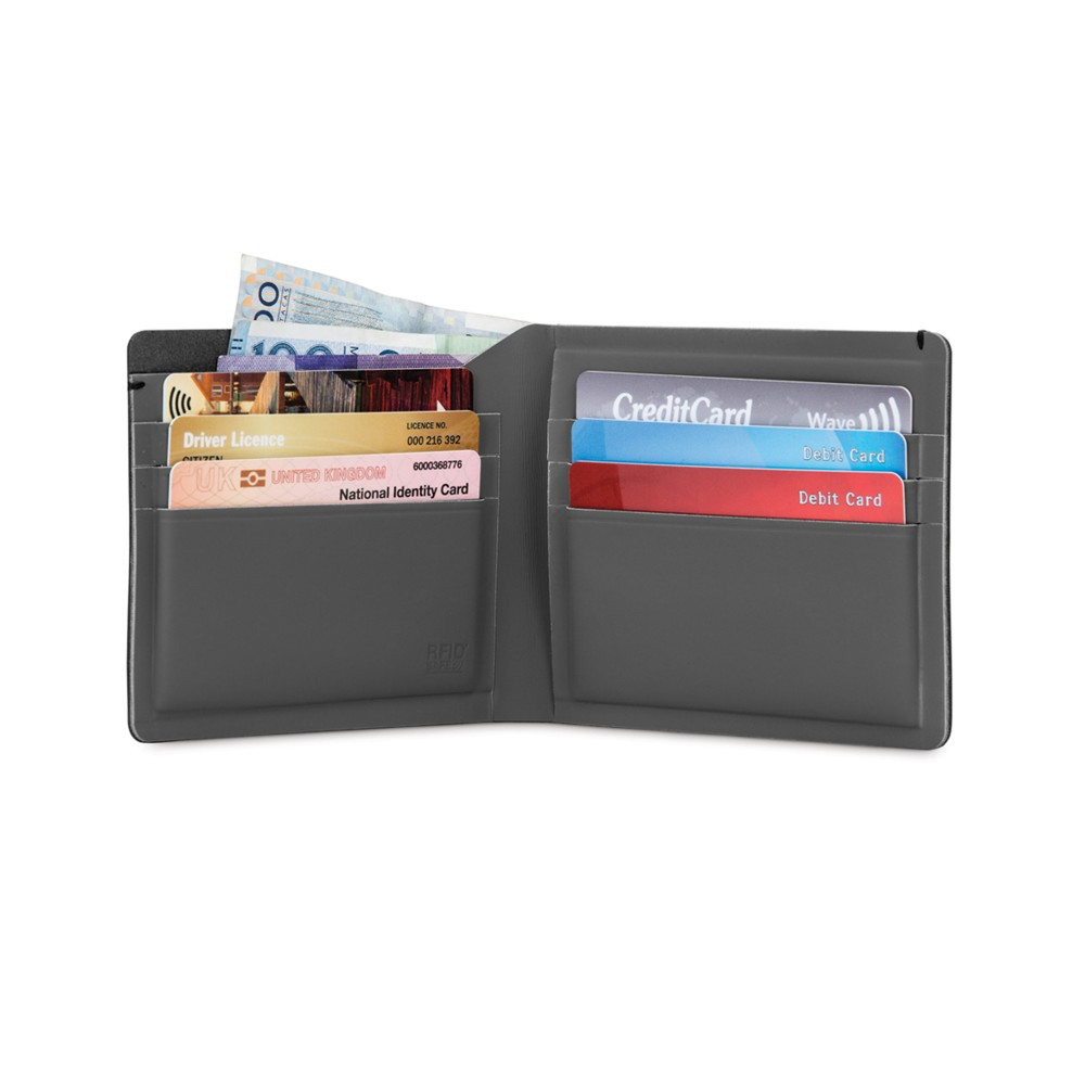 Pacsafe RFIDsafe TEC Bifold Plus Black