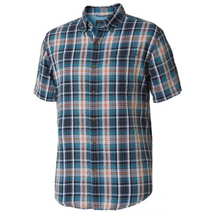 Royal Robbins Mid-Coast Seersucker Plaid SS Mens