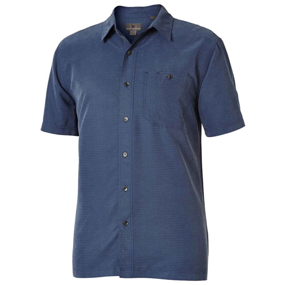 Royal Robbins Mens Mojave Desert Pucker S//S