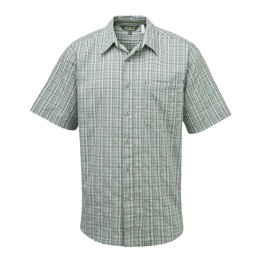 Royal Robbins Jasper Plaid Shirt Mens Canopy