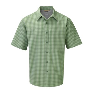 Royal Robbins Global Traveler SS Mens in Dk Evergreen