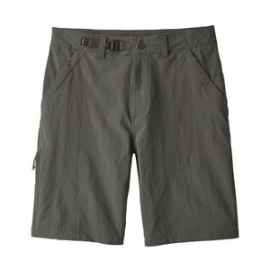 Patagonia Stonycroft Shorts 10 in Mens in Forge Grey