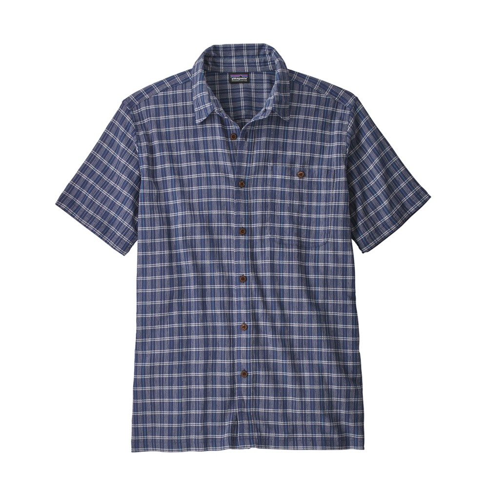 Patagonia A/C Shirt Mens Perch:Dolomite Blue