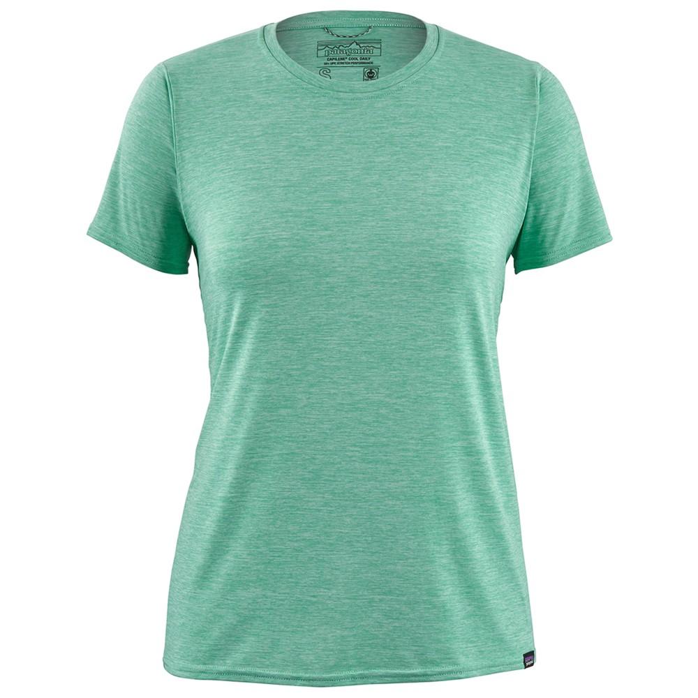 Patagonia Cap Cool Daily Shirt Womens Vjosa Green/Light Vjosa Green