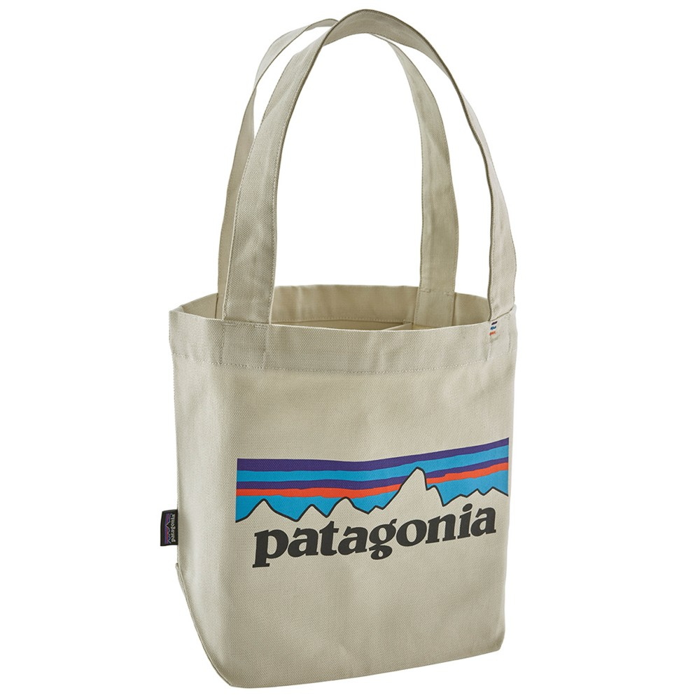 Patagonia Mini Tote P-6 Logo:Bleached Stone