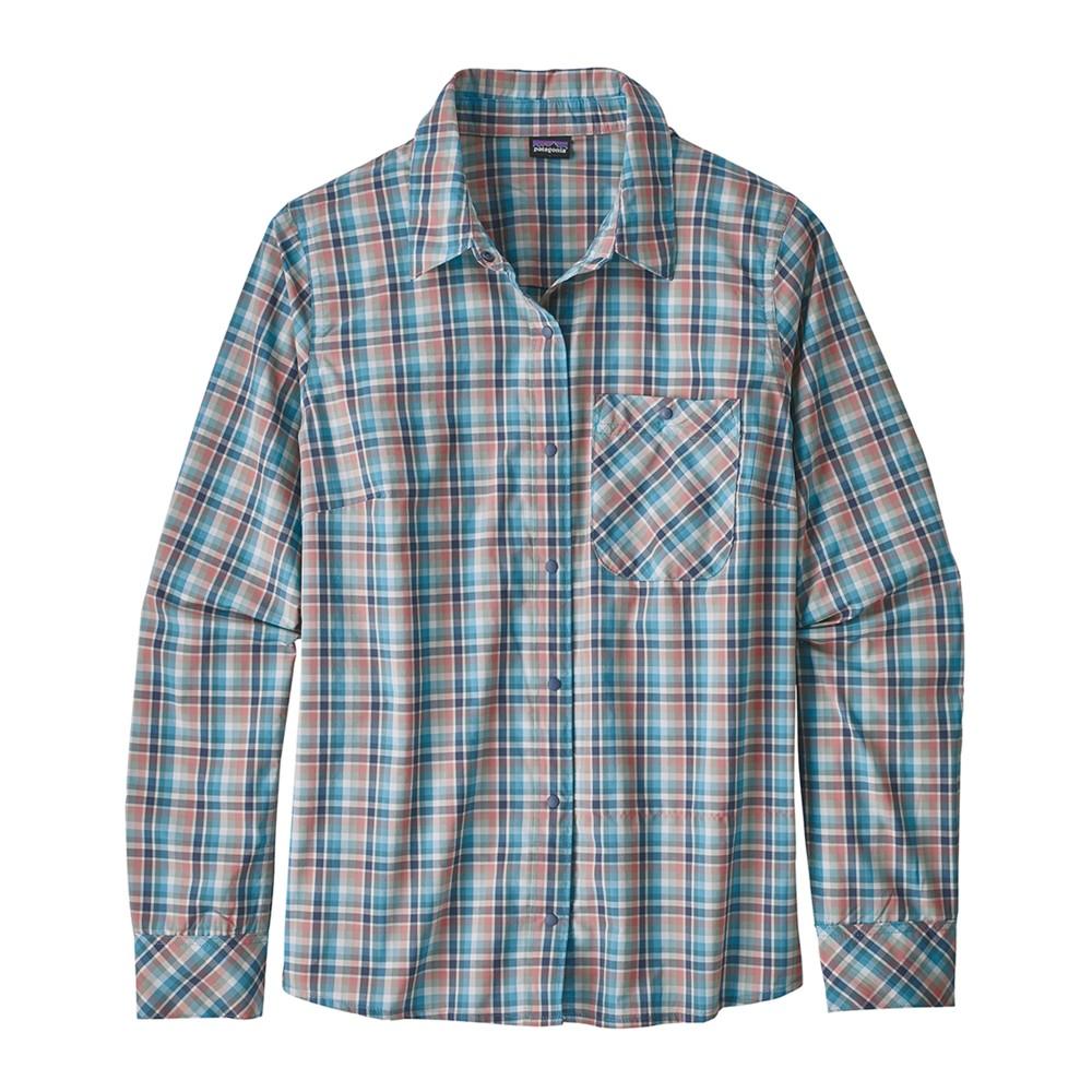 Patagonia LS Havasu Shirt Womens Tropical:Dolomite Blue