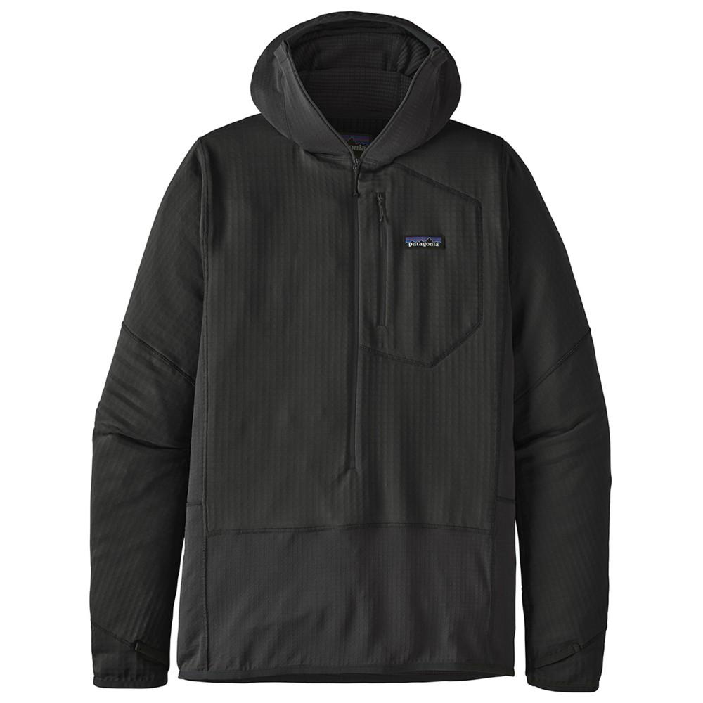 Patagonia R1 Pullover Hoody Mens Black