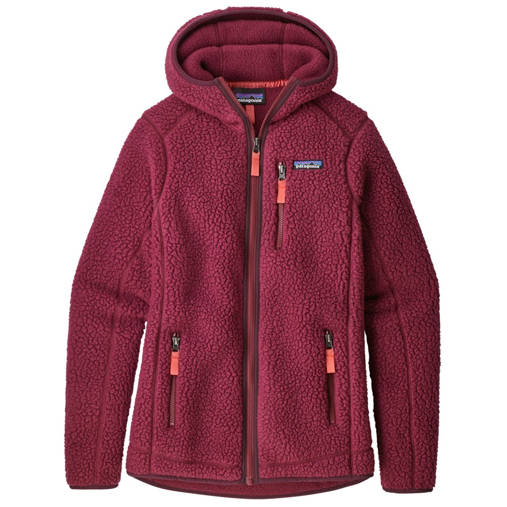 Patagonia Retro Pile Hoody Womens Arrow Red