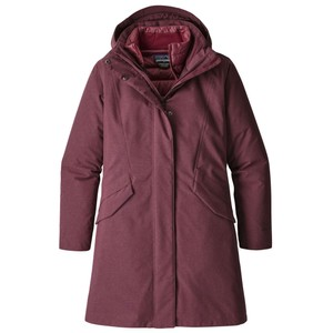 Patagonia Vosque 3-in-1 Parka Womens in Dark Currant