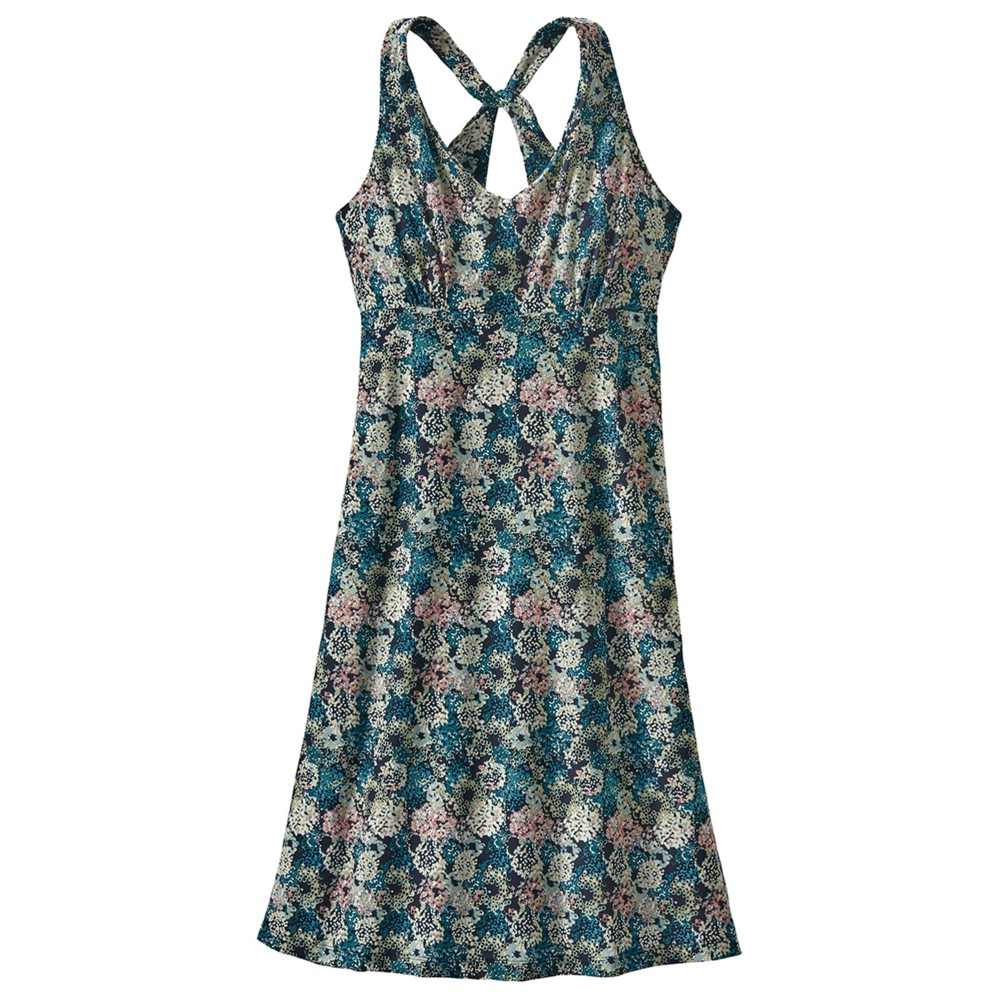 Patagonia Magnolia Spring Dress Womens Fumai Floral:Neo Navy