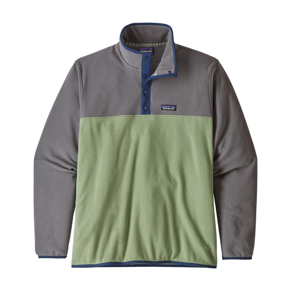 Patagonia Micro D Snap-T Pullover Mens Matcha Green