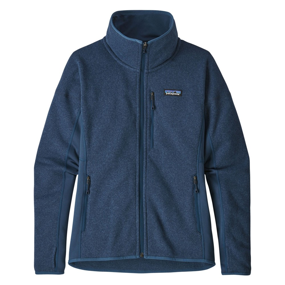 Patagonia Performance Better Sweater Jacket Womens Stone Blue