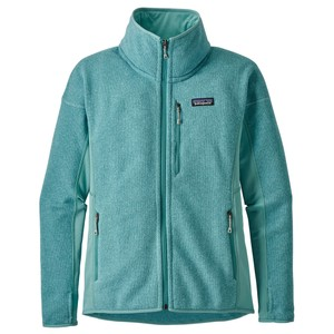 Patagonia Performance Better Sweater Jacket Womens in Dam Blue
