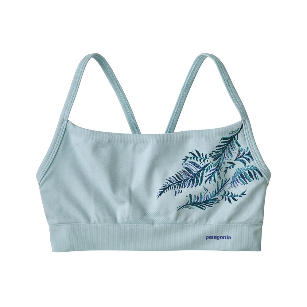 Patagonia Active Mesh Bra Womens Its a Forest:Atoll Blue