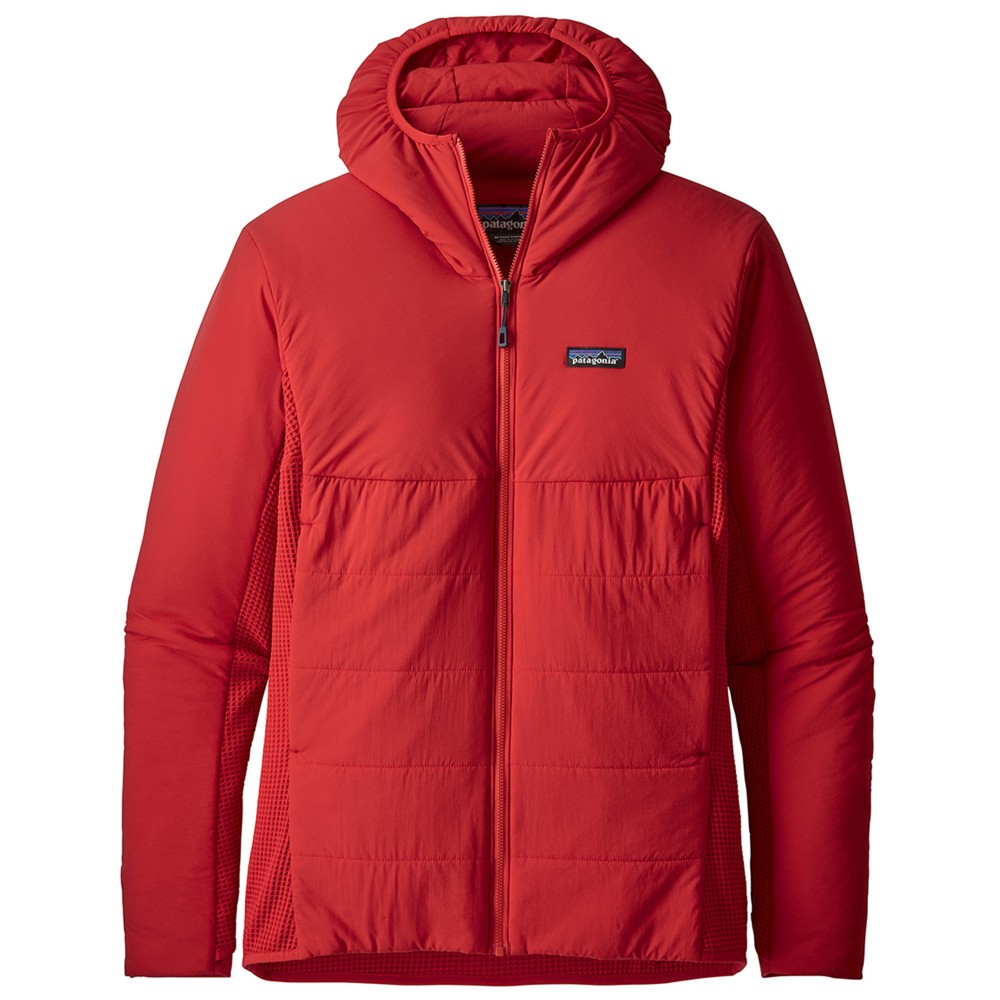 Patagonia Nano-Air Light Hybrid Hoody Mens Fire