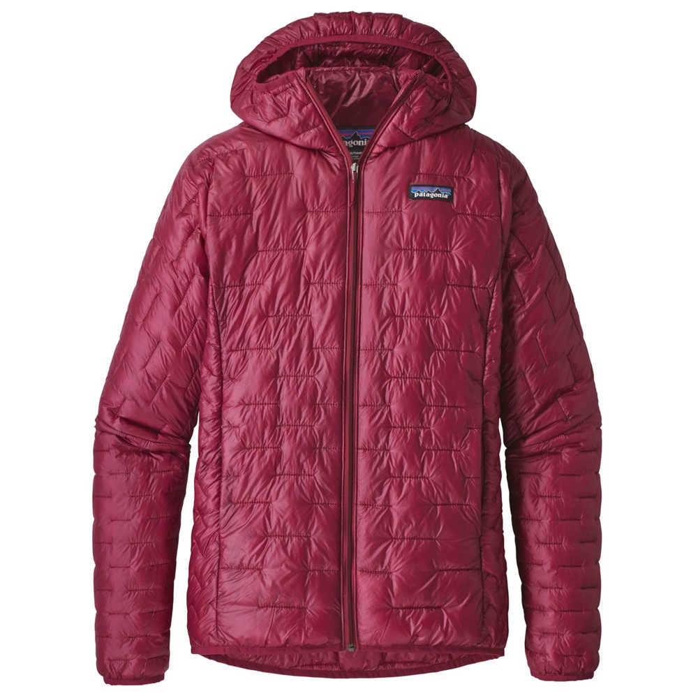Patagonia Micro Puff Hoody Womens Arrow Red