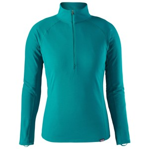 Patagonia Cap MW Zip Neck Womens in Elwha Blue