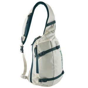 Patagonia Atom Sling 8L in Birch White/Tidal Teal