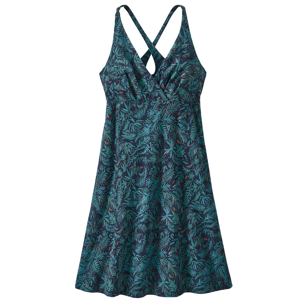 Patagonia Amber Dawn Dress Womens Its a Forest:Neo Navy