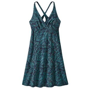 Patagonia Amber Dawn Dress Womens in Its a Forest:Neo Navy