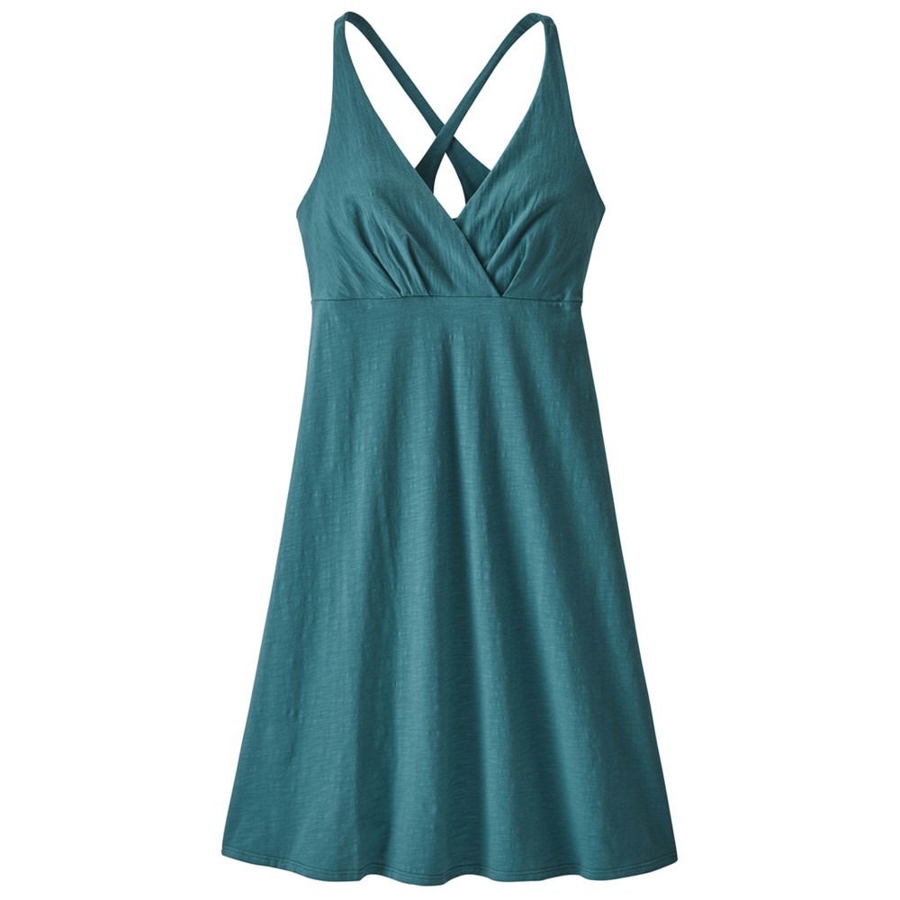 Patagonia Amber Dawn Dress Womens Tasmanian Teal