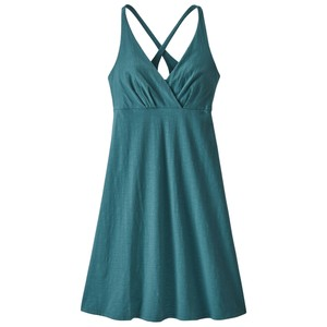 Patagonia Amber Dawn Dress Womens in Tasmanian Teal