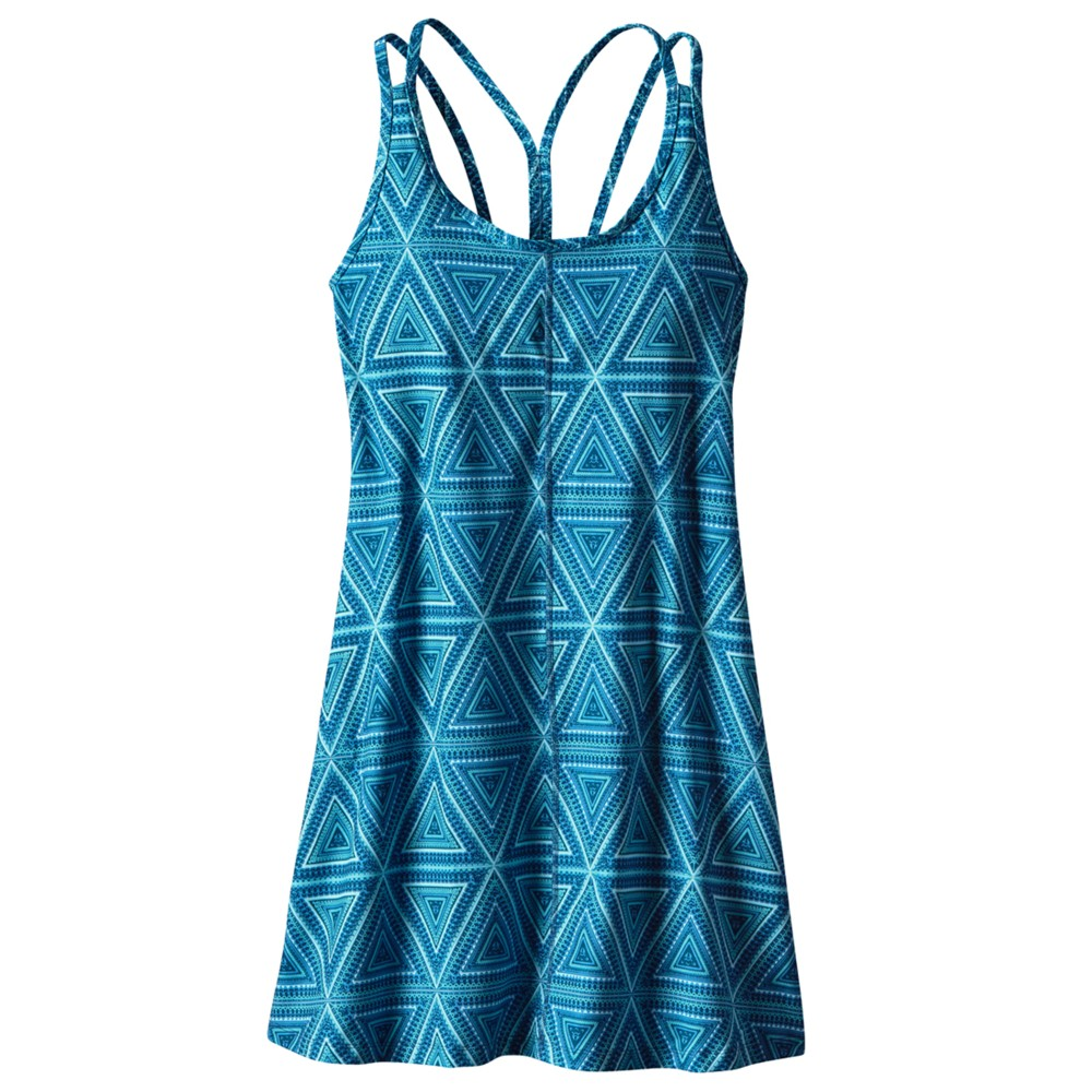 Patagonia Latticeback Dress Womens Big Sur Blue