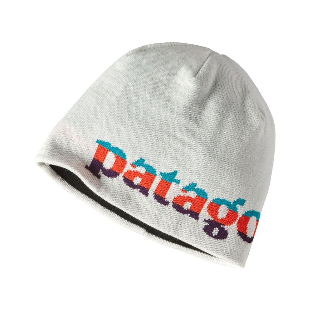 Patagonia Beanie Hat Logo Belwe:Birch White