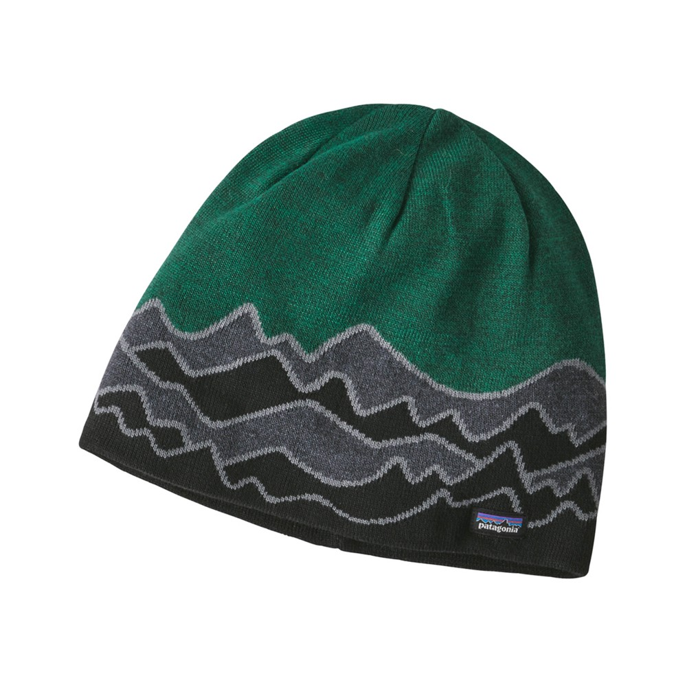 Patagonia Beanie Hat Scenic:Forge Grey