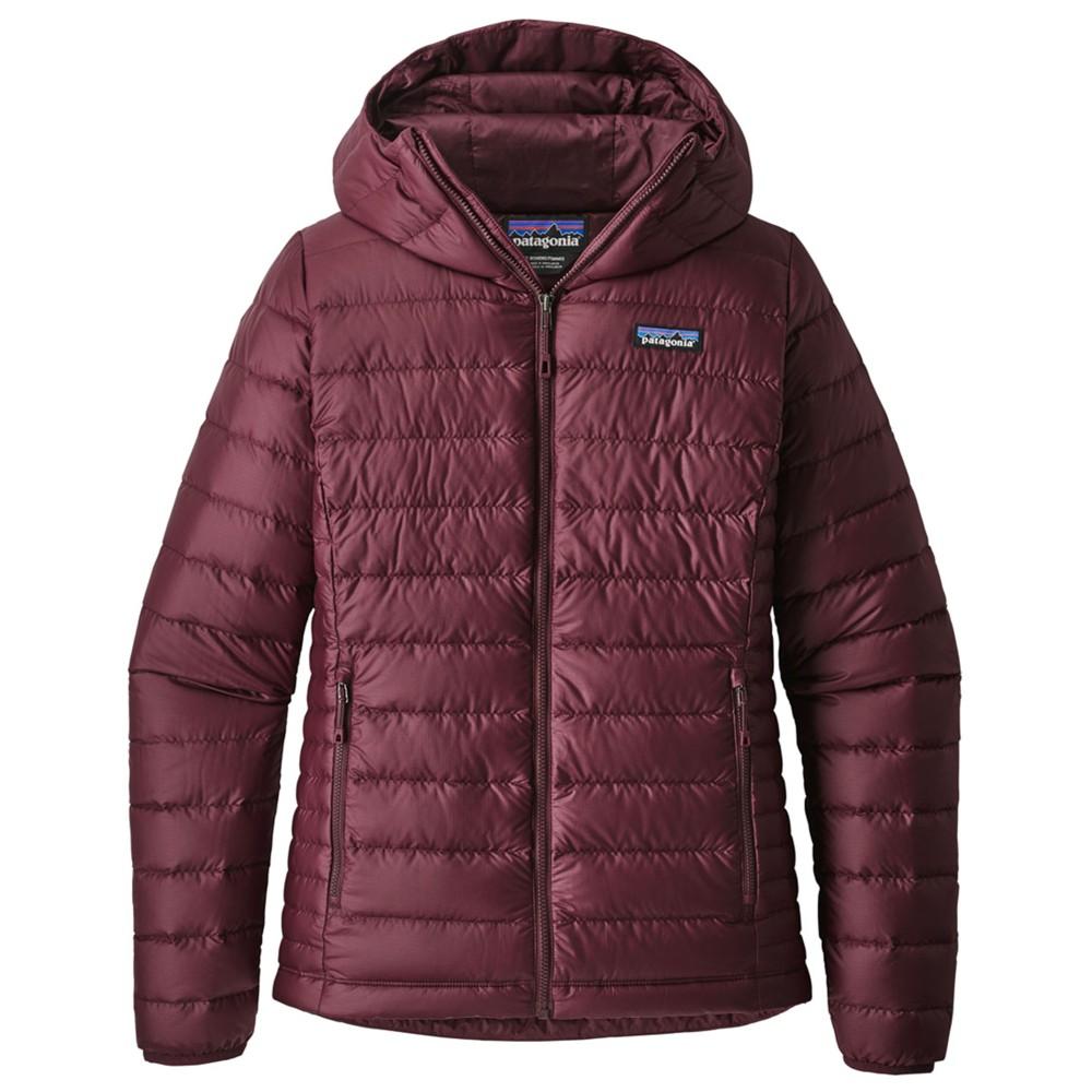 Patagonia Down Sweater Hoody Womens Dark Currant