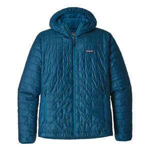 Patagonia Nano Puff Hoody Mens in Big Sur Blue