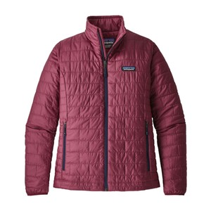 Patagonia Nano Puff Jacket Womens in Arrow Red