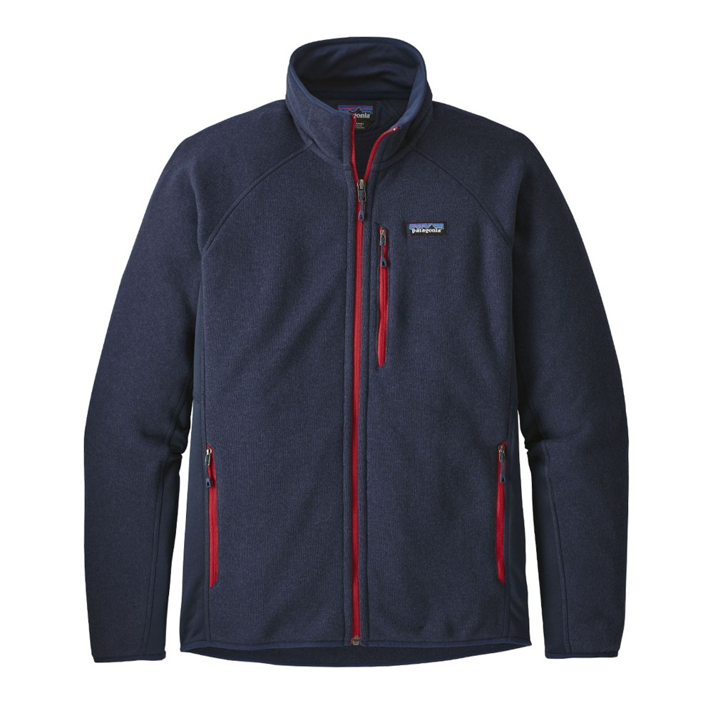 Patagonia Performance Better Sweater Jacket Mens Navy Blue