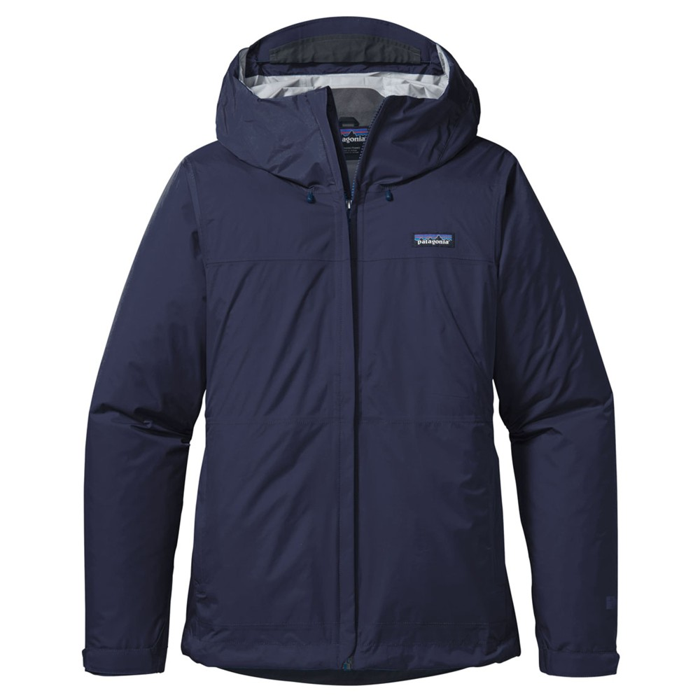 Patagonia Torrentshell Jacket Womens Navy Blue