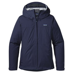 Patagonia Torrentshell Jacket Womens in Navy Blue