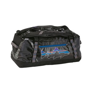 Patagonia Black Hole Duffel 60L in Black/Fitz Trout