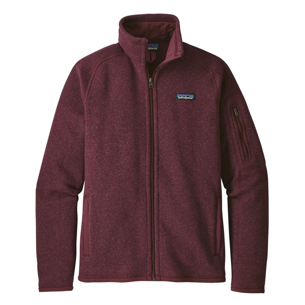 Patagonia Better Sweater Jacket Womens Dark Currant