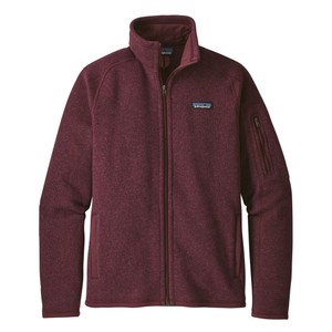Patagonia Better Sweater Jacket Womens in Dark Currant