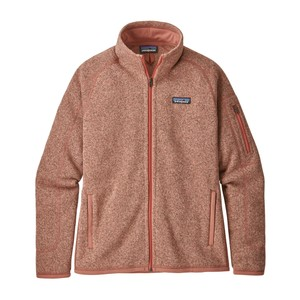 Patagonia Better Sweater Jacket Womens in Flora Pink
