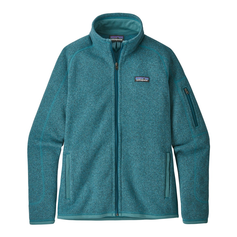 Patagonia Better Sweater Jacket Womens Tasmanian Teal