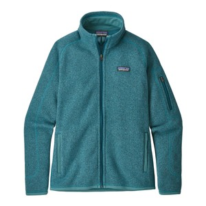 Patagonia Better Sweater Jacket Womens in Tasmanian Teal