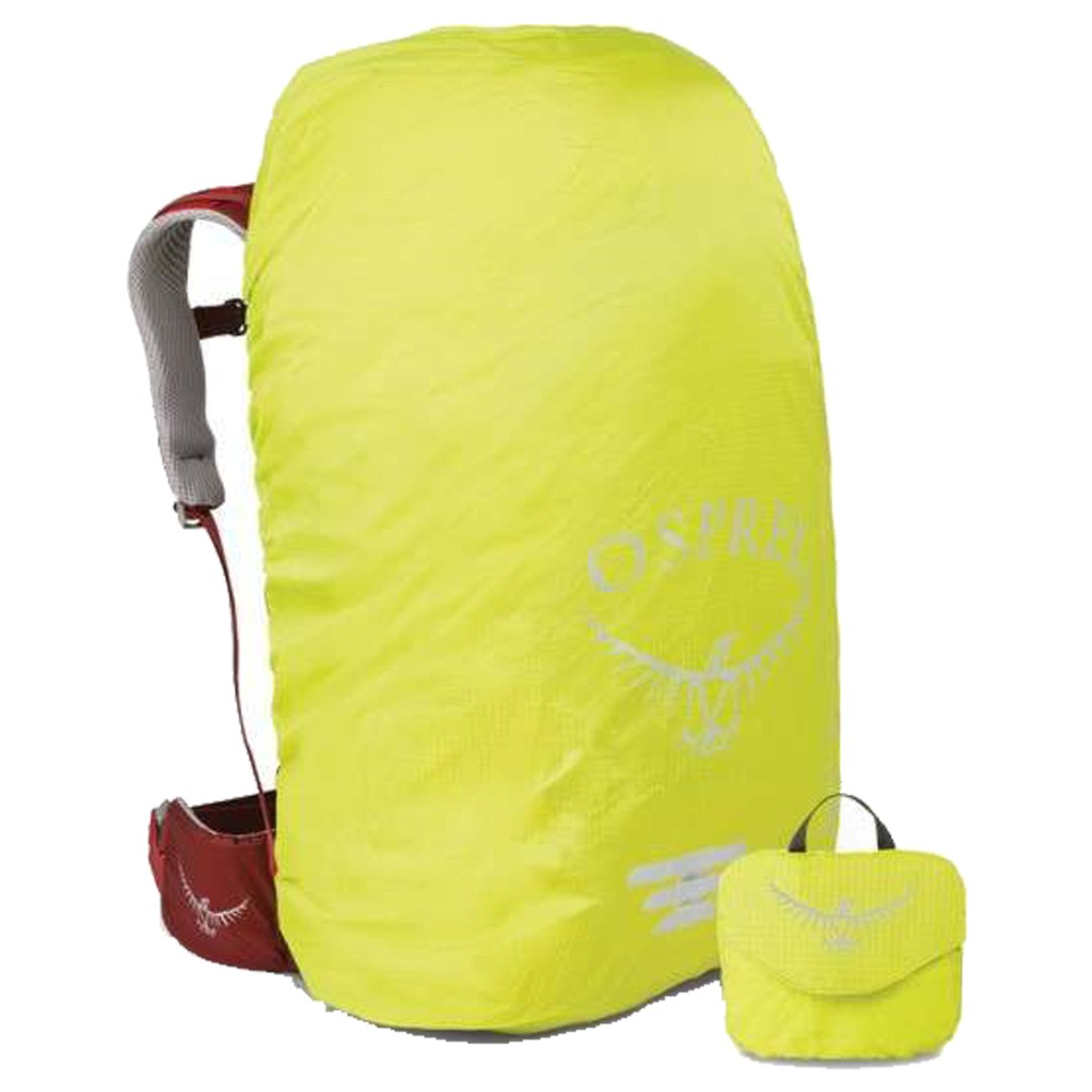 Osprey Ultralight Hi Vis Raincover Small Electric Lime