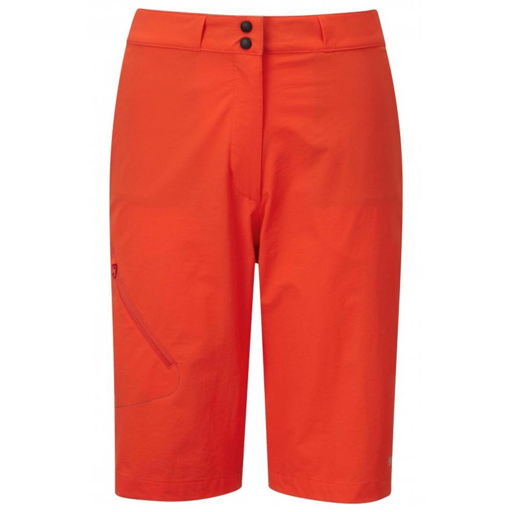 Mountain Equipment Comici Short Womens Cardinal Orange