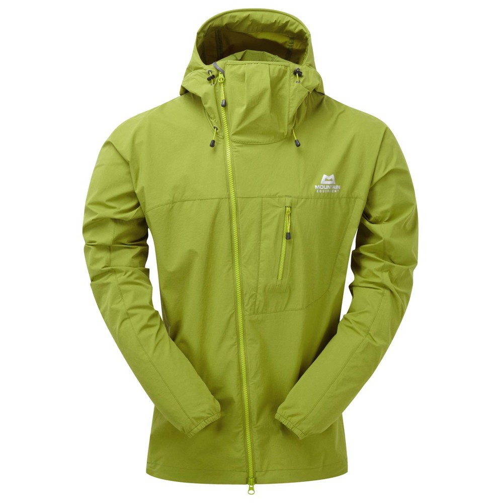 Mountain Equipment Squall Hooded Jacket Mens Kiwi