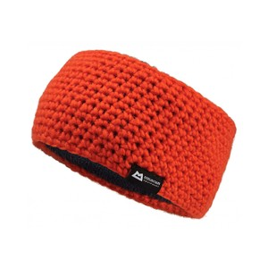 Mountain Equipment Flash Headband in Cardinal Orange