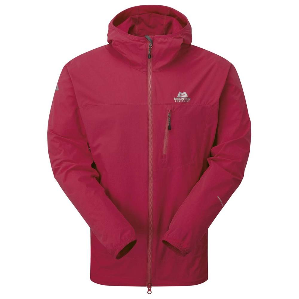Mountain Equipment Echo Hooded Jacket Womens Sangria