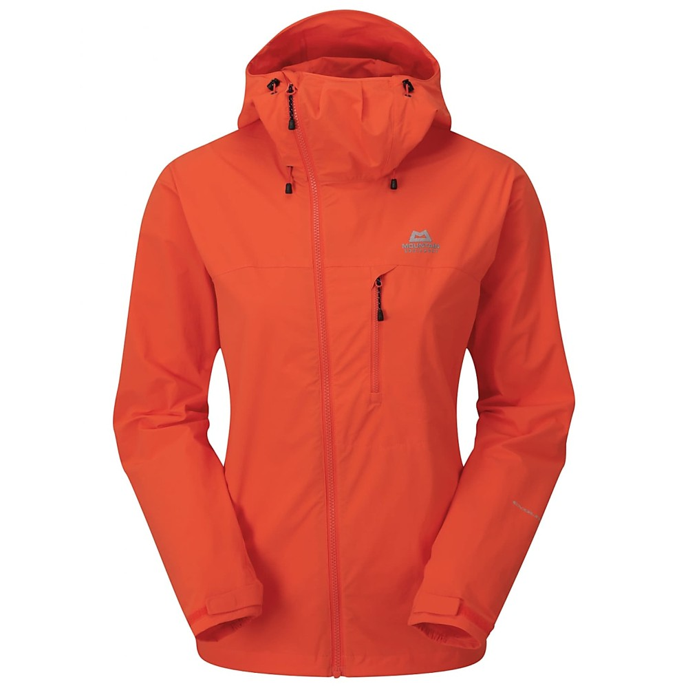 Mountain Equipment Squall Hooded Jacket Womens Kumquat