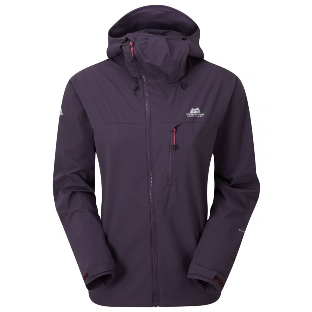Mountain Equipment Squall Hooded Jacket Womens Nightshade
