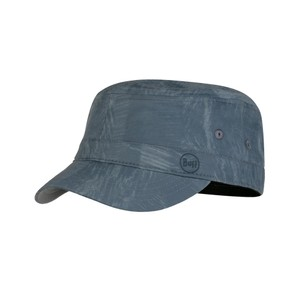 Buff Military Cap in Rinmann Pewter Grey