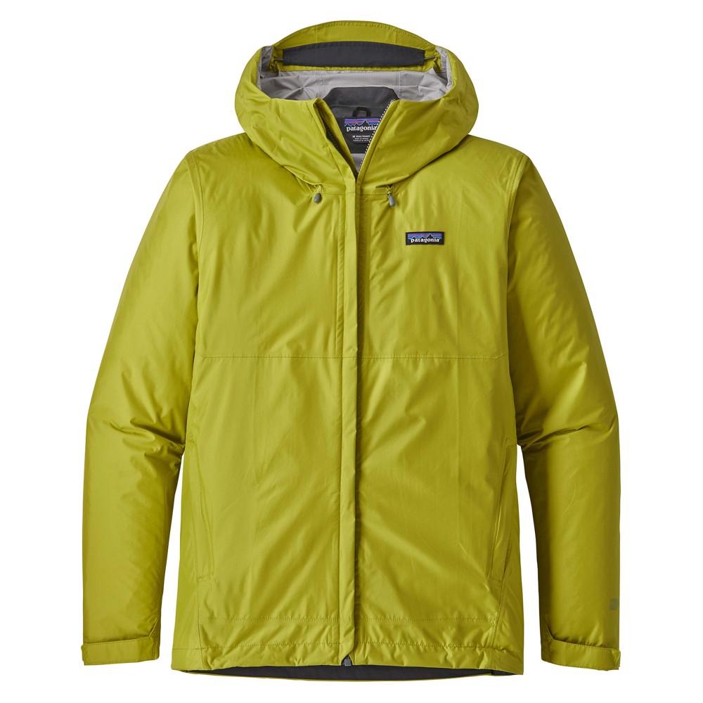 Patagonia Torrentshell Jacket Mens Folios Green